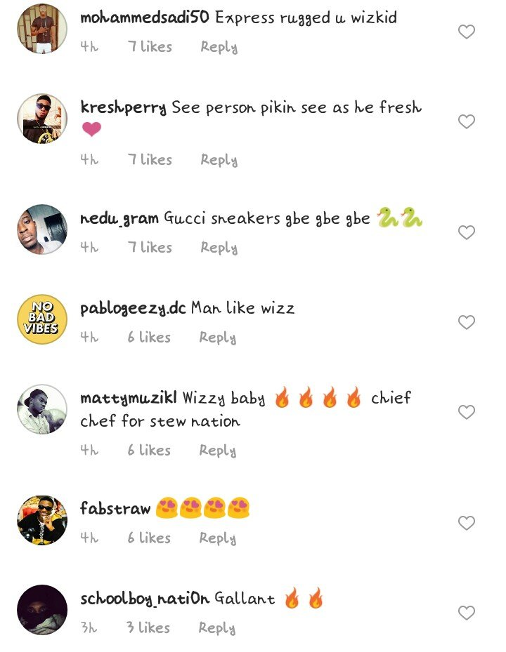 Wizkid Identifies Himself With an American Cult Pilot in S.A,Fans Reacts(pics)