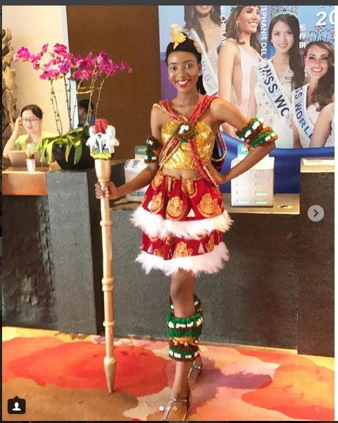 Stunning Photos Of Nigeria's Most Beautiful Girl Anita Ukah At The Miss World Pageant