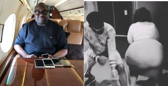 Ovation CEO, Dele Momodu shares twerking video of big lady – Nigerians react