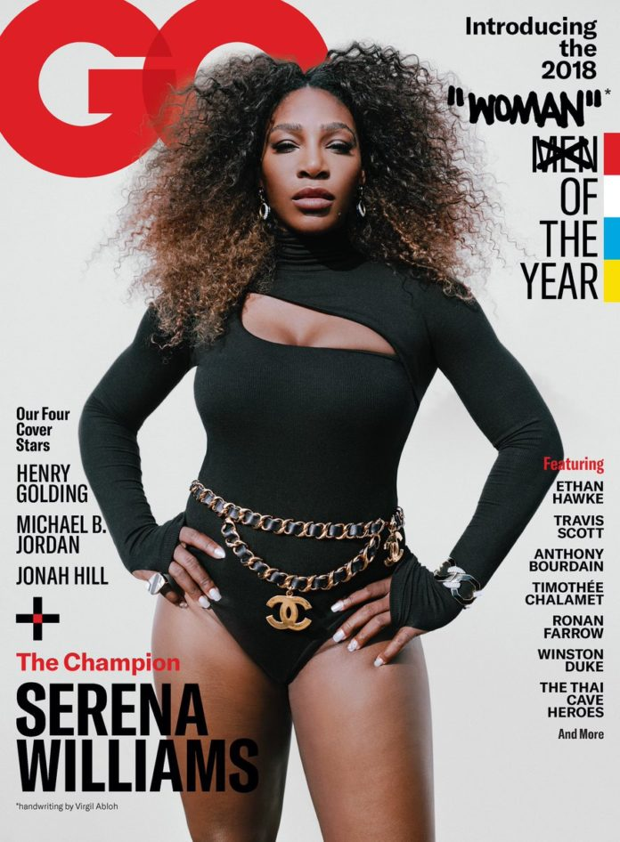Serena Williams named GQ woman of the year 2018