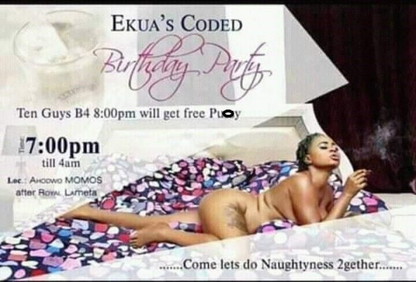 Free Pu*sy for the first 10 guys – Lady's naked birthday IV trends