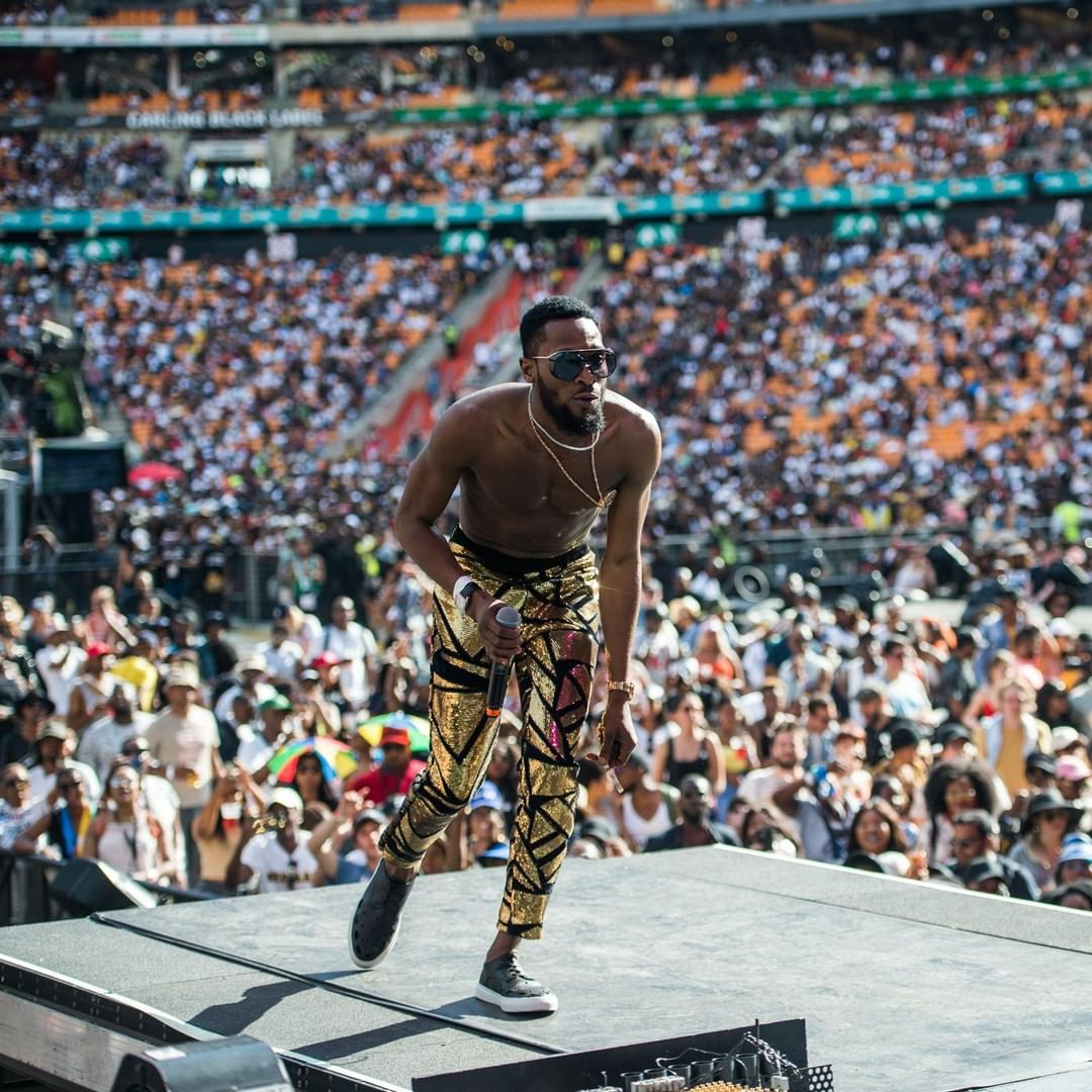 How Tiwa Savage And Wizkid Embarrassed Nigeria At Global Citizen Concert In SA