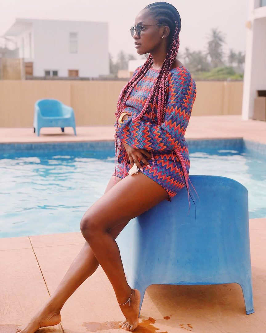 """I'm so f**king happy"" – Singer Simi speaks up after wedding"