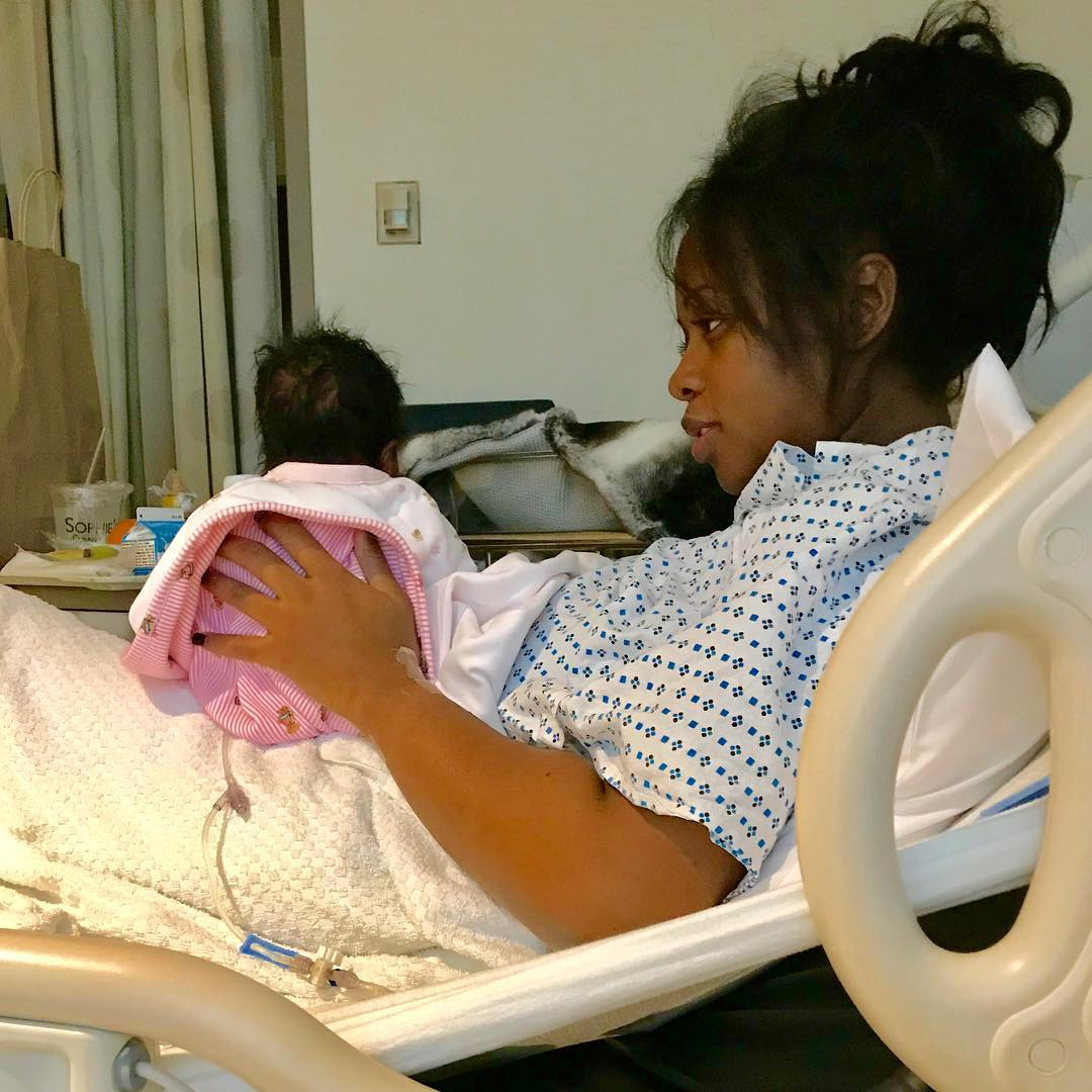 Remy Ma shares first photo of Her New baby Girl, says Best Christmas present ever!!!??