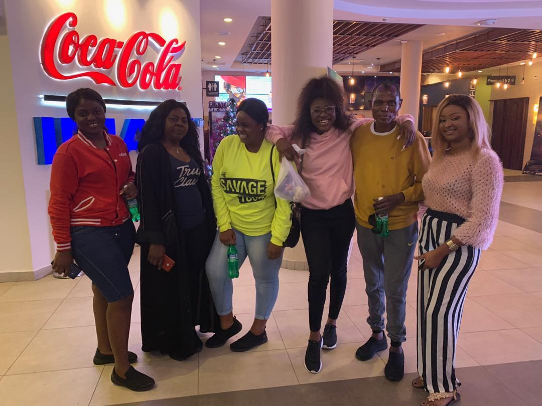 BBN- Alex shows off her Family as they enjoy timeout at Cinemas