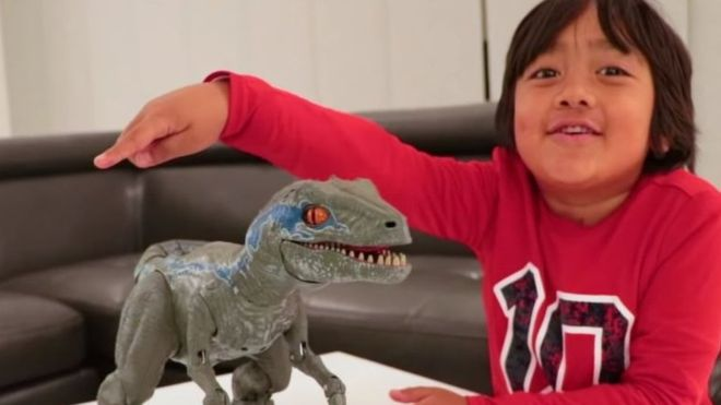 Ryan ToysReview becomes highest paid YouTuber of 2018