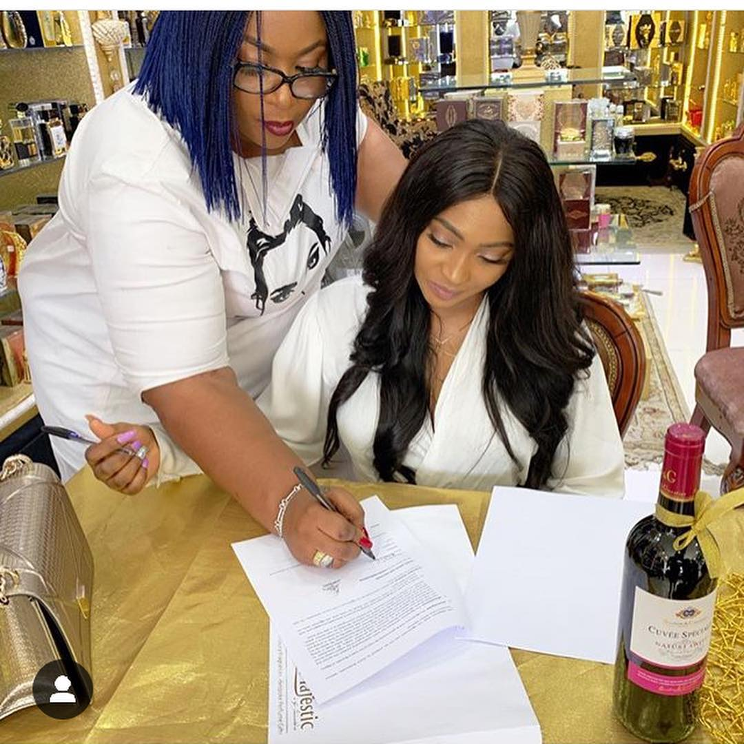 Lilian Esoro Bags An Endorsement Deal With Perfume Empire