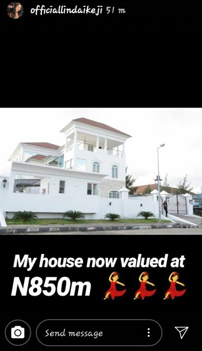 Linda Ikeji: My House Is Now Valued At N850 Million