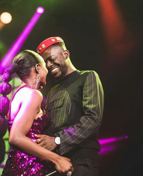 Adekunle Gold and Simi Kiss and smooch each other(Photos)