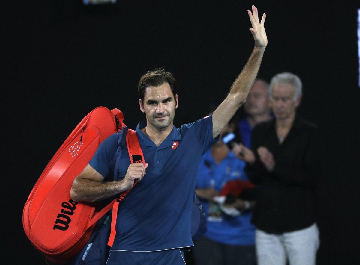 20-Year-Old Tsitsipas Upsets Roger Federer at Australian Open