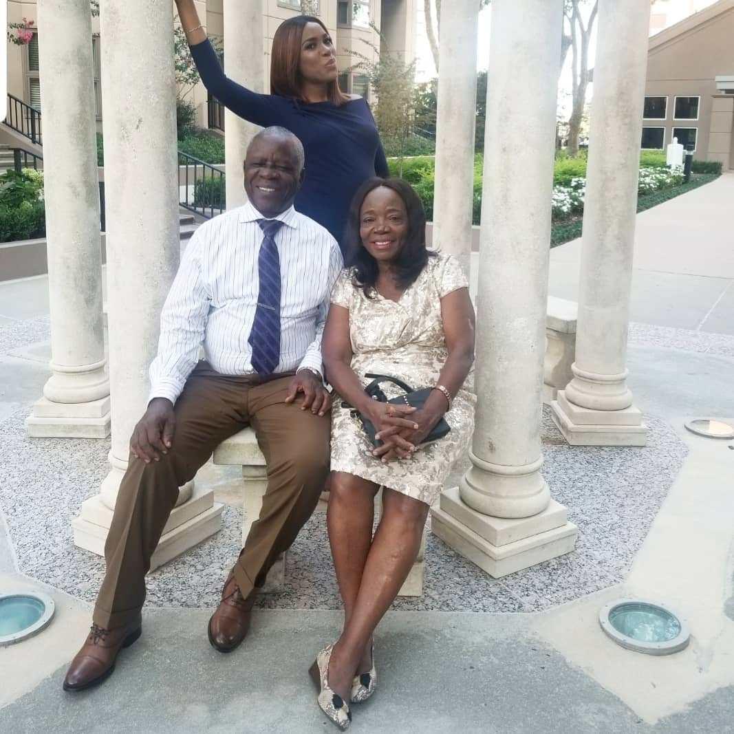 Blogger Linda Ikeji Celebrates Her Parent As They Mark Their 40th Wedding Anniversary