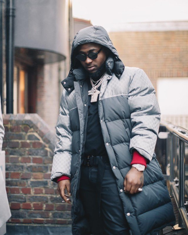 I cost a lot - says DMW boss Davido as he steps out in style