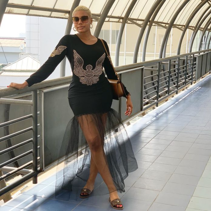 Nollywood Actress ,Nancy Isime Looks Enchanting In Glamorous Outfit