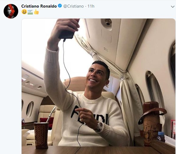 Emiliano Sala Missing: Cristiano Ronaldo criticized for posting private jet selfie