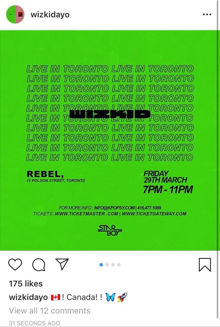 Star boy Wizkid Returns to social media, Checkout What He Wants You to See