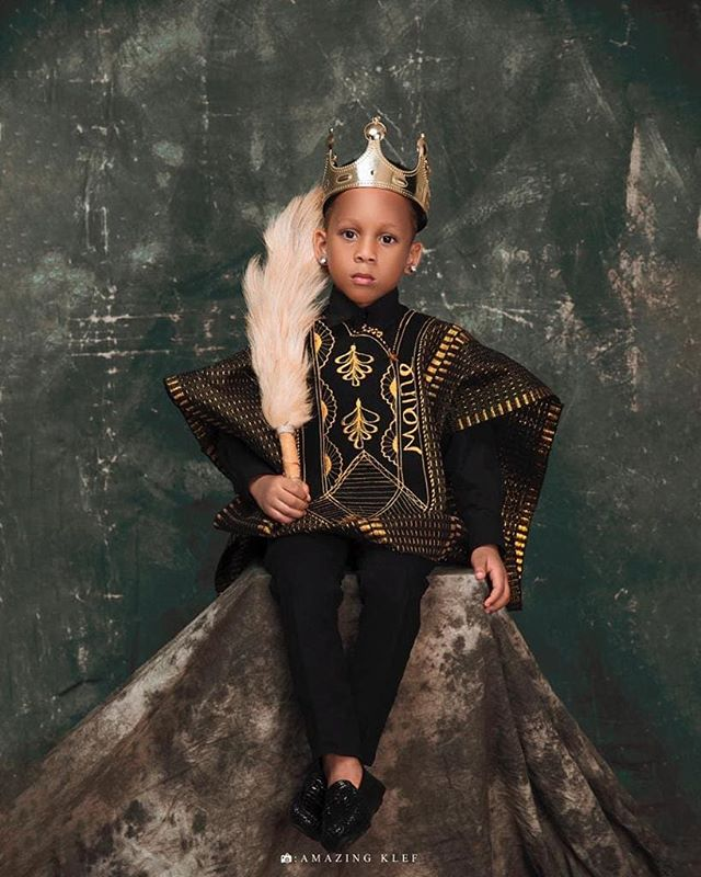 CEO of Tiannah's Empire,Toyin Lawani Celebrates Her Son, Lordmaine 5th Birthday With Cute Photos