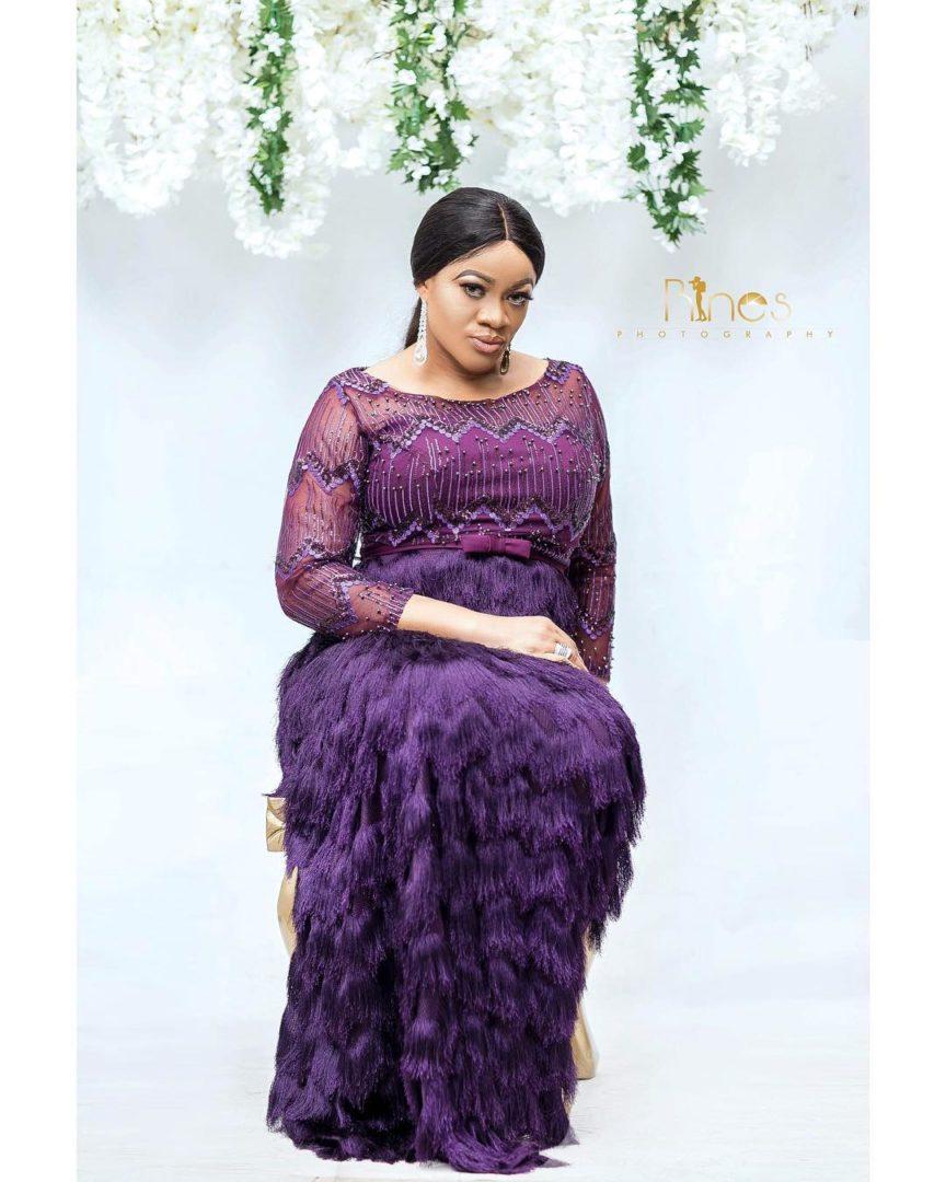 Nollywood actress Uchenna Nnanna Celebrates her birthday with beautiful photos
