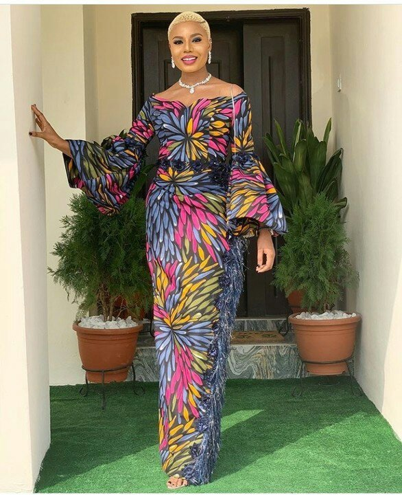 Media Personality, Nancy Isime Stuns In Gorgeous Sunday Outfit
