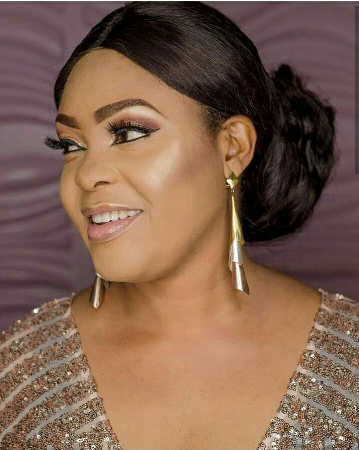Actress Sola Kosoko  Celebrates 43rd Birthday in Cleavage barring outfit