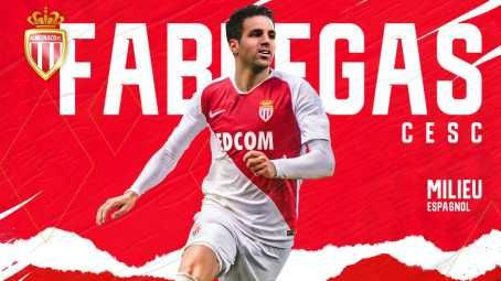 Football Transfer Update : AS Monaco Signs Cesc Fabregas From Chelsea