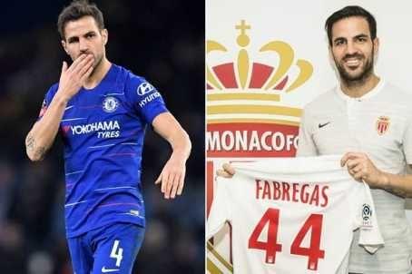 Football Transfer : AS Monaco Signs Cesc Fabregas From Chelsea