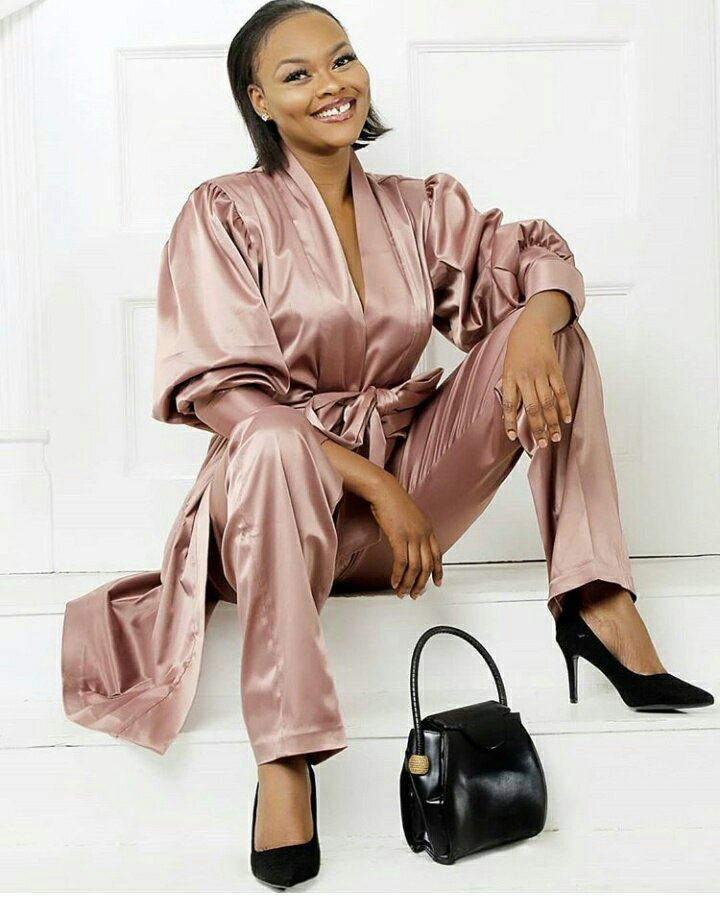 Actress Kehinde Bankole shows off her gap tooth in Radiant Stunning Photos