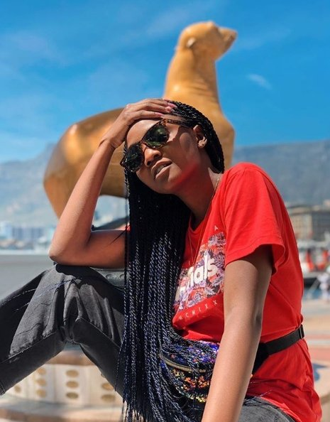 Simi Looks Adorable In New Photos, as she enjoys baecation with Adekunle Gold