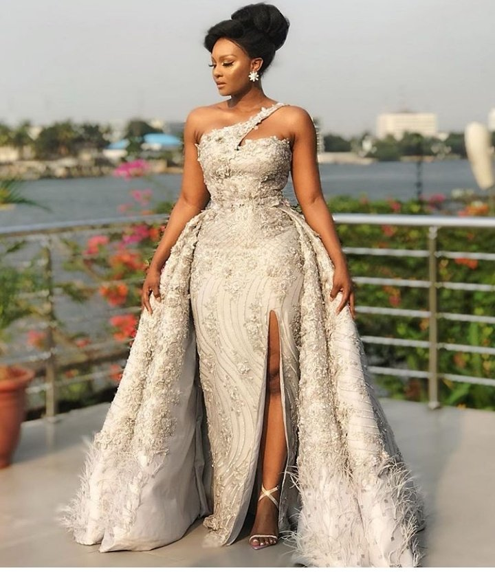 Actress Osas Ighodaro Dazzling In Enthralling Outfits To The Film Gala