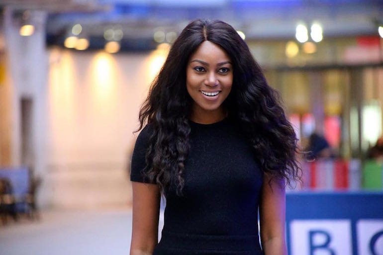 Yvonne Nelson's Billboard Destroyed By Unknown Persons