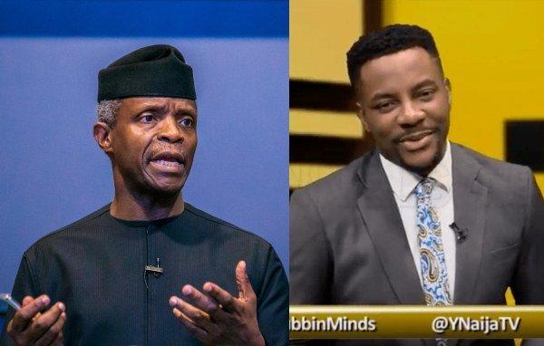 #Rubbinminds: Nigerians React To Yemi Osinbajo Canceling Interview With Ebuka