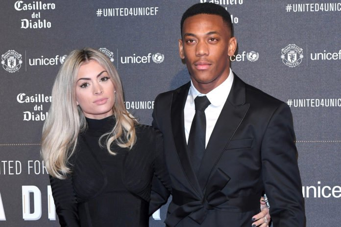 Manchester United Striker,Anthony Martial Apologizes To Fiancee After Cheating On Her
