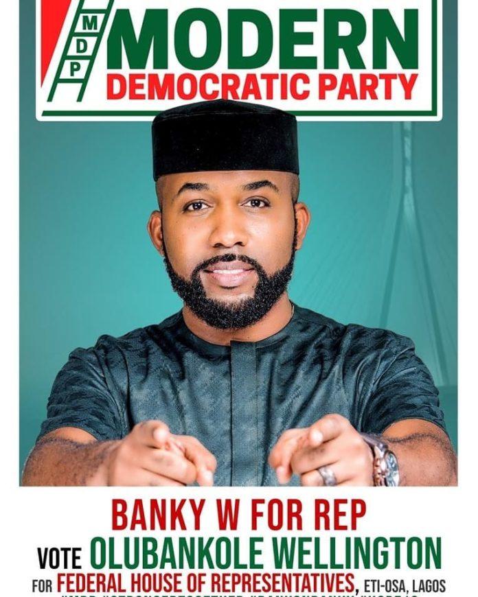 'I Empowered Masterkraft, Wizkid' – Banky W Speaks During Town-hall Meeting