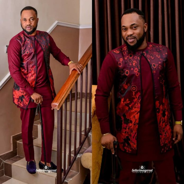Nollywood actor, Damola Olatunji Celebrates His Birthday, Shares Adorable Photos