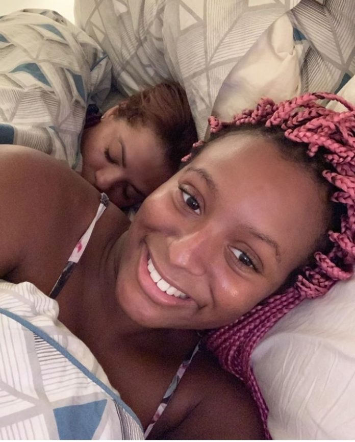 DJ Cuppy Shares Her Make-up Free Photo In Bed
