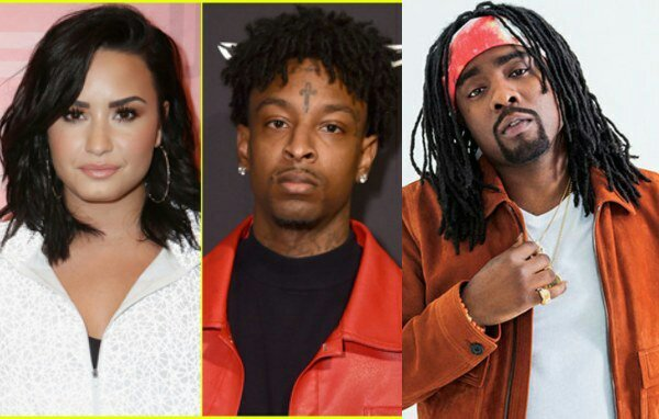 Singer Demi Lovato Deactivates her Twitter  page After Being dragged By Wale For Mocking 21 Savage (screenshots)