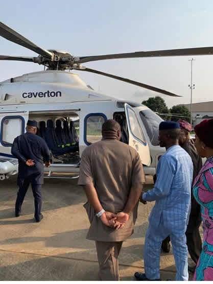 Vice President Professor Yemi Osinbajo Gets New Chopper From Caverton Helicopters