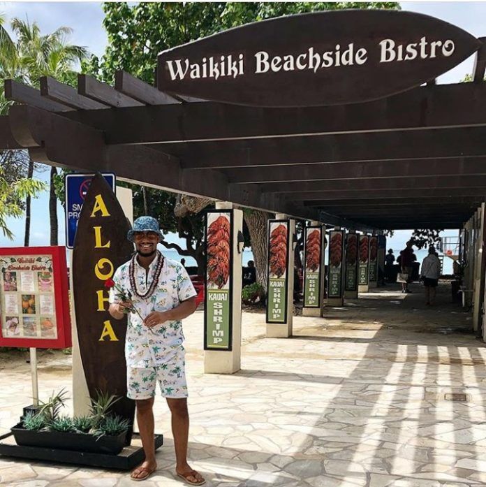 Actor Alexx Ekubo And His Girlfriend Fancy Enjoys Baecation In Hawaii