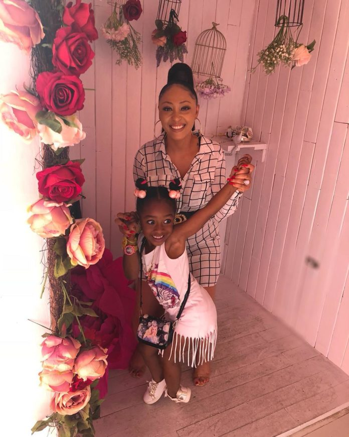 Rosy Meurer Show Off Her Cute Daughter, As They Both Hangout