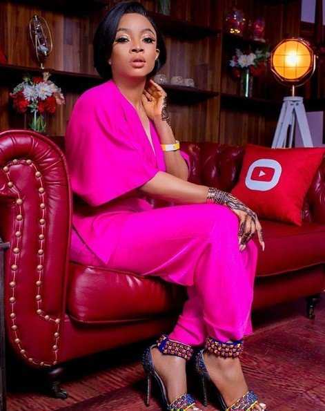 Toke Makinwa Wows In Lovely After Church Service Photos