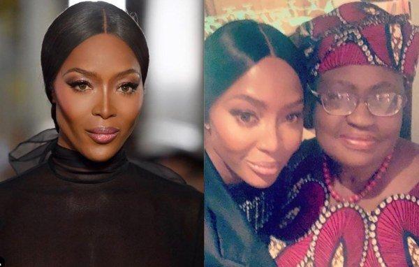 Supermodel Naomi Campbell Excited As She Meets Ngozi Okonjo-iweala