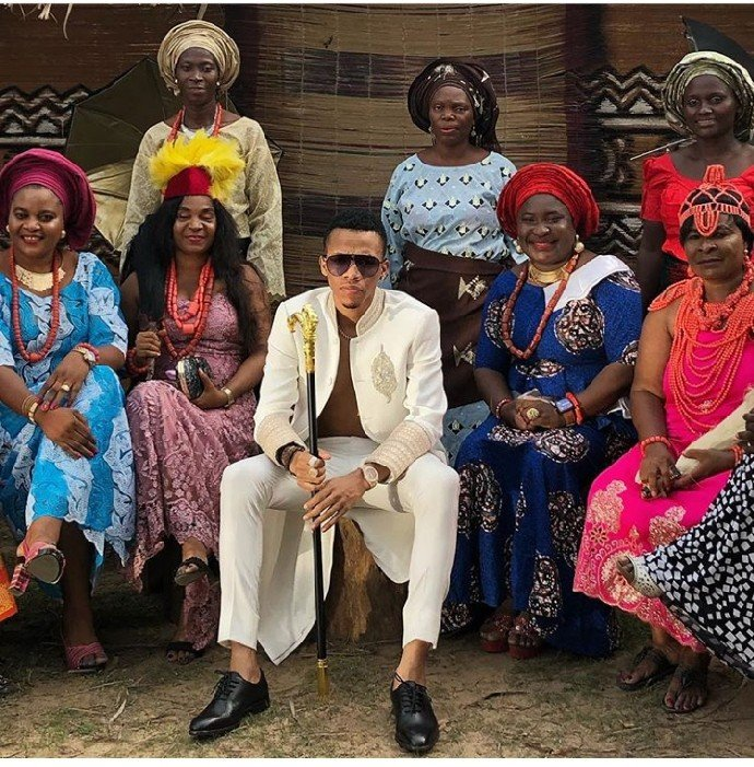Cute Photos Of Singer, Tekno frolicking with 10 Women