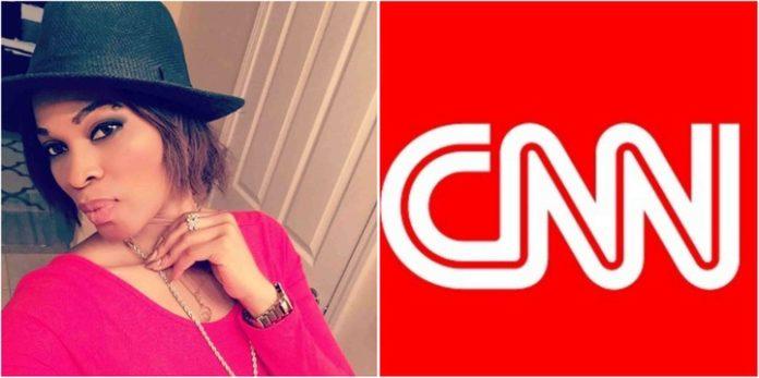 Actress Georgina Onuoha Blasts CNN For Not Covering Nigerian Elections