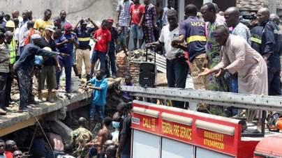 Lagos School Building Disaster Leaves 10 Dead