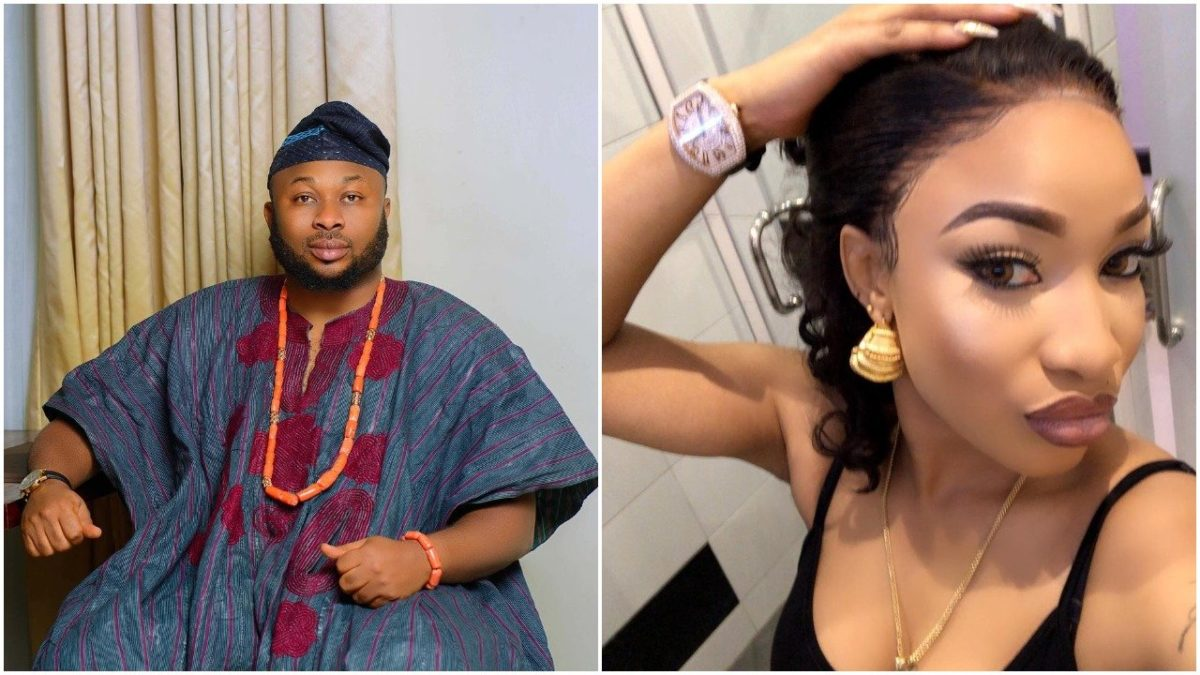 ''I Met Her At A Night Club''- Dr. Churchill Opens Up On How She Met Tonto Dikeh
