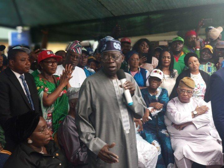 If you lose your polling unit 'OYO lo wa' - Tinubu Addresses APC Members Over Governorship Election
