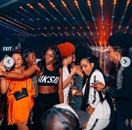 Juliet Ibrahim Spotted Rocking Denrele Edun Hard In A Birthday Party