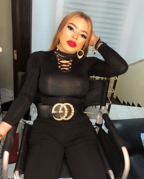 Fans Reacts as Bobrisky Grows larger Boobs in New photos