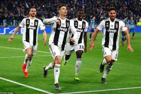 UCL: Cristiano Ronaldo Hat-Trick Shoots Juventus Into Quarter Finals