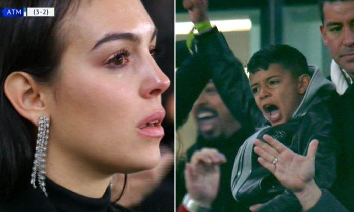 Cristiano Ronaldo's Girlfriend Georgina Rodriguez In Tears After Hat-trick