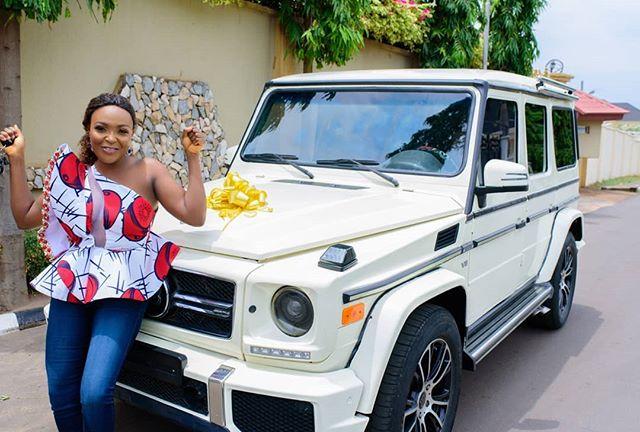 Blogger Nkiruka Blessing Okoro Buys A Brabus G Wagon As Early 30th Birthday Gift